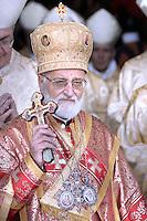S.B.R. Grégoire III Laham, B.s., Patriarca di Antiochia dei Greco-Melkiti, Capo del Sinodo della Chiesa Greco-Melkita Cattolica (SIRIA)