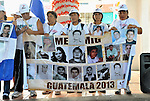 At a December 16, 2013 demonstration in the center of Tapachula, Mexico, several dozen Central Americans held photos of family members who disappeared in Mexico. The group, mostly mothers looking for their children, spent 17 days touring 14 Mexican states in search of their loved ones, most of whom had disappeared while following the migrant trail north or were abducted by human traffickers.