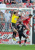 August 21 2010   D.C. United goalkeeper Troy Perkins #23 in action during a game between DC United and Toronto FC at BMO Field in Toronto..DC United won 1-0.