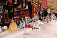 Woman market next to the refugee camp, in Peshawar Pakistan
