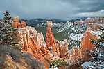 Hoodoos in Aqua Canyon at Bryce Canyon National Park