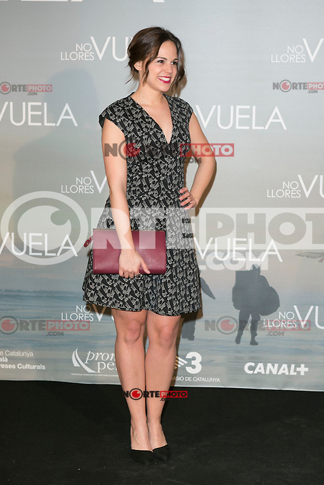 Marian Arahuetes attends Claudia&acute;s Llosa &quot;No Llores Vuela&quot; movie premiere at Callao Cinema, Madrid,  Spain. January 21, 2015.(ALTERPHOTOS/)Carlos Dafonte) /NortePhoto<br />