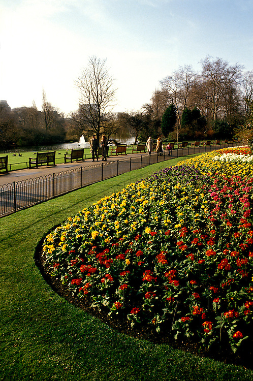 England: Europe, London, St. James's Park,  Photo: london105.Photo copyright Lee Foster, www.fostertravel.com, 510/549-2202, lee@fostertravel.com