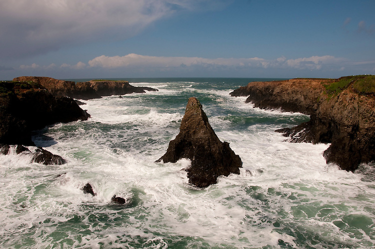 California: Mendocino Headlands along the North Coast.  Photo copyright Lee Foster california111764.