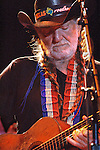 Willie Nelson performing at the Austin City Limit Music Festival 2006 in Austin Texas.