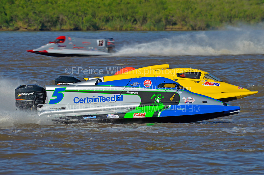 Rueben Stafford (#5) and Terry Rinker (#10)           (Formula 1/F1/Champ class)