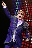 Elton John in concert in Nice