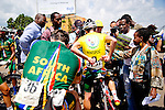 Lill Daren (National Team South Africa) keeps his yellow until the last stage