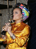 HOLLYWOOD, CA - FEBRUARY 19: ***EXCLUSIVE***  Andra Day  inside at 3rd Annual Hollywood Beauty Awards at Avalon Hollywood In California on February 19, 2017. Credit: Faye Sadou/MediaPunch