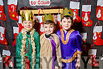 CHRISTMAS PLAY: Danny Lane, Ryan Moriarty and Conor Murphy  at Scoil Eoin, Balloonagh enjoying their Christmas play on Tuesday