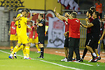 St Johnstone v Eskisehirspor....18.07.12  Uefa Cup Qualifyer.Potuk Alper celebrates his goal.Picture by Graeme Hart..Copyright Perthshire Picture Agency.Tel: 01738 623350  Mobile: 07990 594431