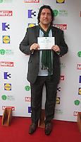 03/06/2014  <br /> Brian Kennedy<br /> during the Pride of Ireland awards at the Mansion House, Dublin.<br /> Photo: Gareth Chaney Collins