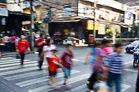 Pedestrian crossing, Bangkok, Thailand