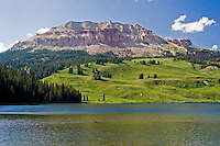 Absaroka Lake, Beartooth Mountains, Beartooth Highway