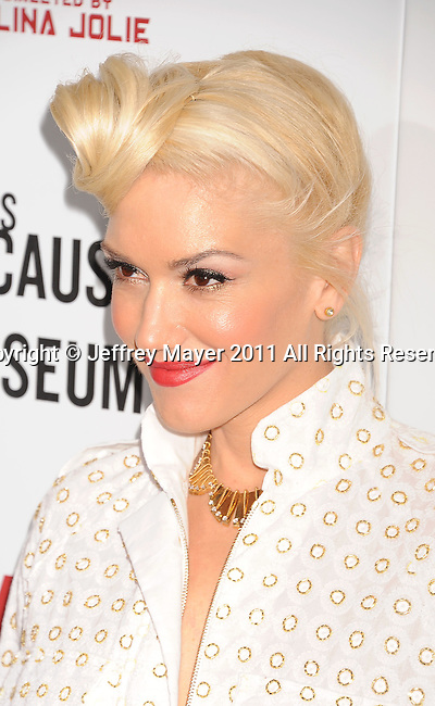 HOLLYWOOD, CA - DECEMBER 08: Gwen Stefani attends 'In The Land Of Blood And Honey' Los Angeles Premiere at ArcLight Cinemas Hollywood on December 8, 2011 in Hollywood, California.