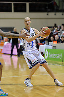 Phill Jones in action during the NBL Final Four - Saints v Giants at TSB Bank Arena, Wellington, New Zealand on Friday 4 July 2014. <br /> Photo by Masanori Udagawa. <br /> www.photowellington.photoshelter.com.