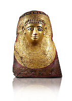 Ancient Egyptian case of the inner coffin of Nespamai depicting the goddess Nut. 500BC BC. Neues Museum Berlin AM 31213/2.