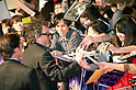 "April 12, 2012, Tokyo, Japan - The director Tim Burton sings autographs to their fans at Roppongi Hills for the Japan Premier of ""Dark Shadows"". ""Dark Shadows"" starts showing in Japan on May 19, 2012.."