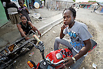 People in Batey Bombita, a community in the southwest of the Dominican Republic whose population is composed of Haitian immigrants and their descendents.