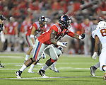 Ole Miss defensive end Channing Ward (11) vs. Texas at Vaught-Hemingway Stadium in Oxford, Miss. on Saturday, September 15, 2012. Texas won 66-21. Ole Miss falls to 2-1.
