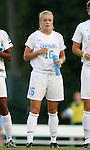 07 September 2007: North Carolina's Rachel Givan. The University of North Carolina Tar Heels defeated the Texas A&M University Aggies 2-1 at Fetzer Field in Chapel Hill, North Carolina in an NCAA Division I Women's Soccer game, and part of the annual Nike Carolina Classic tournament.