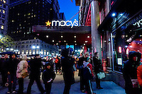 People visit Mancy's Herald Square store during Black friday promotions in New York.  10.28.2014. Eduardo Munoz Alvarez/VIEWpress