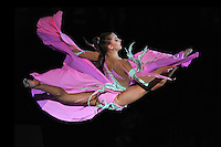 Melitina Staniouta of Belarus performs gala exhibition at 2010 World Cup at Portimao, Portugal on March 14, 2010.  (Photo by Tom Theobald).