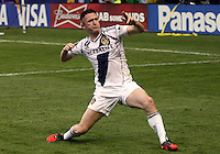 CARSON, CA - DECEMBER 01, 2012:   Robbie Keane (7) of the Los Angeles Galaxy after scoring against the Houston Dynamo during the 2012 MLS Cup at the Home Depot Center, in Carson, California on December 01, 2012. The Galaxy won 3-1.
