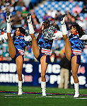 29 November 2009: The Buffalo Jills cheerleaders entertain the fans prior to a game between the Miami Dolphins and the Buffalo Bills at Ralph Wilson Stadium in Orchard Park, New York. The Bills defeated the Dolphins 31-14. Mandatory Credit: Ed Wolfstein Photo