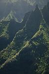 Cliffs on the Na Pali Coast, Kauai, Hawaii