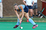 18 September 2015: North Carolina's Julia Young. The University of North Carolina Tar Heels hosted the University of Louisville Cardinals at Francis E. Henry Stadium in Chapel Hill, North Carolina in a 2015 NCAA Division I Field Hockey match. UNC won the game 5-0.