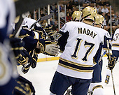 Billy Maday (Notre Dame - 17) - The University of Notre Dame Fighting Irish defeated the University of New Hampshire Wildcats 2-1 in the NCAA Northeast Regional Final on Sunday, March 27, 2011, at Verizon Wireless Arena in Manchester, New Hampshire.