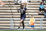 03 April 2016: Notre Dame's Molly Cobb. The University of North Carolina Tar Heels hosted the University of Notre Dame Fighting Irish in a 2016 NCAA Division I Women's Lacrosse match. Maryland won the game 14-8.