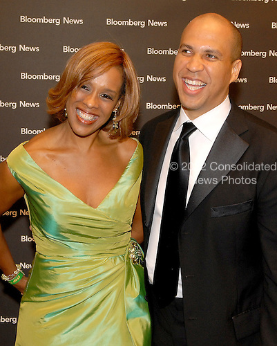 Washington, D.C. - April 21, 2007 -- Gayle King and Cory A. Booker, Mayor of Newark, New Jersey, attend the Bloomberg News Party at the Embassy of Costa Rica following the 2007 White House Correspondents Association dinner at the Washington Hilton in Washington, D.C. on Saturday evening, April 21, 2007..Credit: Ron Sachs / CNP                                                               (NOTE: NO NEW YORK OR NEW JERSEY NEWSPAPERS OR ANY NEWSPAPER WITHIN A 75 MILE RADIUS OF NEW YORK CITY)