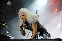 DERBYSHIRE, ENGLAND - AUGUST 12: Dee Snider of 'Twisted Sister' performing at Bloodstock Open Air Festival, Catton Park on August 12, 2016 in Derbyshire, England.<br /> CAP/MAR<br /> &copy;MAR/Capital Pictures /MediaPunch ***NORTH AND SOUTH AMERICAS ONLY***