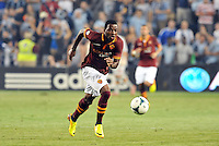 Sporting Park, Kansas City, Kansas, July 31 2013:<br /> Junior Tallo (20) AS Roma forward in action.<br /> MLS All-Stars were defeated 3-1 by AS Roma at Sporting Park, Kansas City, KS in the 2013 AT &amp; T All-Star game.