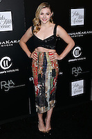 CULVER CITY, CA, USA - OCTOBER 08: Chloe Grace Moretz arrives at the 5th Annual PSLA Autumn Party benefiting Children's Institute, Inc. held at 3Labs on October 8, 2014 in Culver City, California, United States. (Photo by Xavier Collin/Celebrity Monitor)