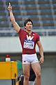 Genki Dean (JPN), APRIL 29, 2012 - Athletics: The 46th Mikio Oda Memorial Athletic Meet, JAAF Track & Field Grand Prix Rd.3, during the Men's Javelin Throw final at Hiroshima Kouiki Kouen (Hiroshima Big Arch) in Hiroshima, Japan. (Photo by Jun Tsukida/AFLO SPORT) [0003]