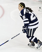 Sarah Campbell (UNH - 26) - The Boston College Eagles and the visiting University of New Hampshire Wildcats played to a scoreless tie in BC's senior game on Saturday, February 19, 2011, at Conte Forum in Chestnut Hill, Massachusetts.