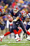 Buffalo Bills quarterback J.P. Losman (7) sets to make a handoff against the visiting New England Patriots at Ralph Wilson Stadium in Orchard Park, NY, on December 11, 2005 . The Patriots defeated the Bills 35-7. Mandatory Photo Credit: Ed Wolfstein