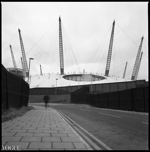 The Dome, North Greenwich, London 2012 by Paul Cooklin
