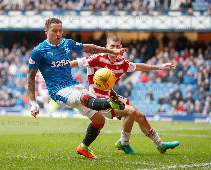 James Tavernier and Alex Gogic