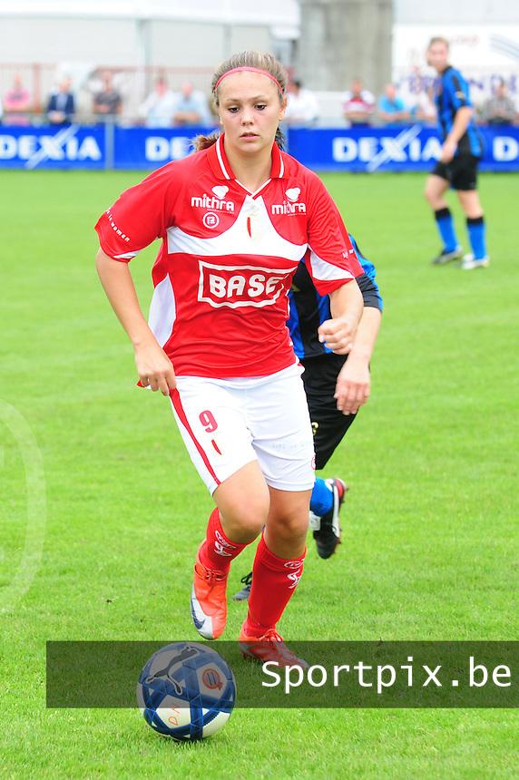 Club Brugge - Standard Femina :  Lieke Martens.fotografe Joke Vuylsteke - vrouwenteam.be