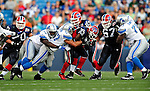 3 September 2009:  Buffalo Bills' running back Dominic Rhodes (33) in action during a pre-season game against the Detroit Lions at Ralph Wilson Stadium in Orchard Park, New York. The Lions defeated the Bills 17-6...Mandatory Photo Credit: Ed Wolfstein Photo