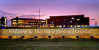 The new Martha Jefferson Hospital in Albemarle County, VA. Photo/Andrew Shurtleff