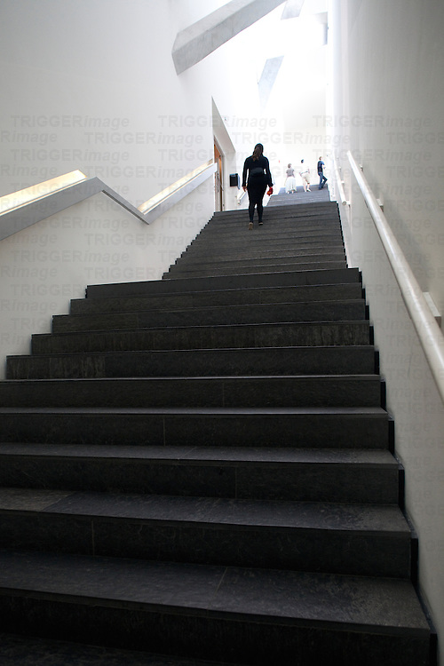 Staircase inside the Jewish Museum, Berlin, Germany