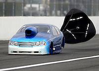 Feb 10, 2017; Pomona, CA, USA; NHRA top sportsman driver Phil Dion during qualifying for the Winternationals at Auto Club Raceway at Pomona. Mandatory Credit: Mark J. Rebilas-USA TODAY Sports