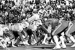 FTB 403 F 2 Colorado<br /> <br /> Football- BYU vs University of Colorado. 8 Steve Young Quarterback.<br /> <br /> Sept 26, 1981<br /> <br /> Box Number: 6371<br /> <br /> Photo by: Mark Philbrick/BYU<br /> <br /> Copyright BYU PHOTO 2008<br /> All Rights Reserved<br /> 801-422-7322<br /> photo@byu.edu