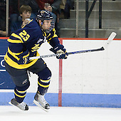 Chris Barton (Merrimack - 23) - The visiting Merrimack College Warriors tied the Boston University Terriers 1-1 on Friday, November 12, 2010, at Agganis Arena in Boston, Massachusetts.