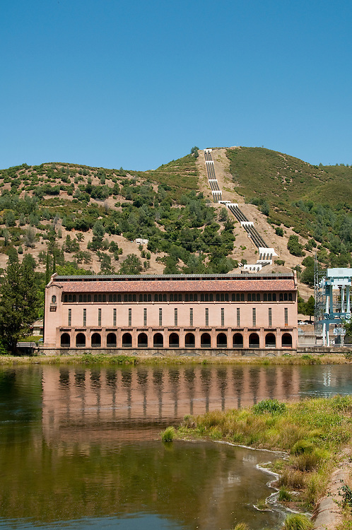 Hydroelectric Project, Moccasin; California, USA.  Photo copyright Lee Foster.  Photo # california121520
